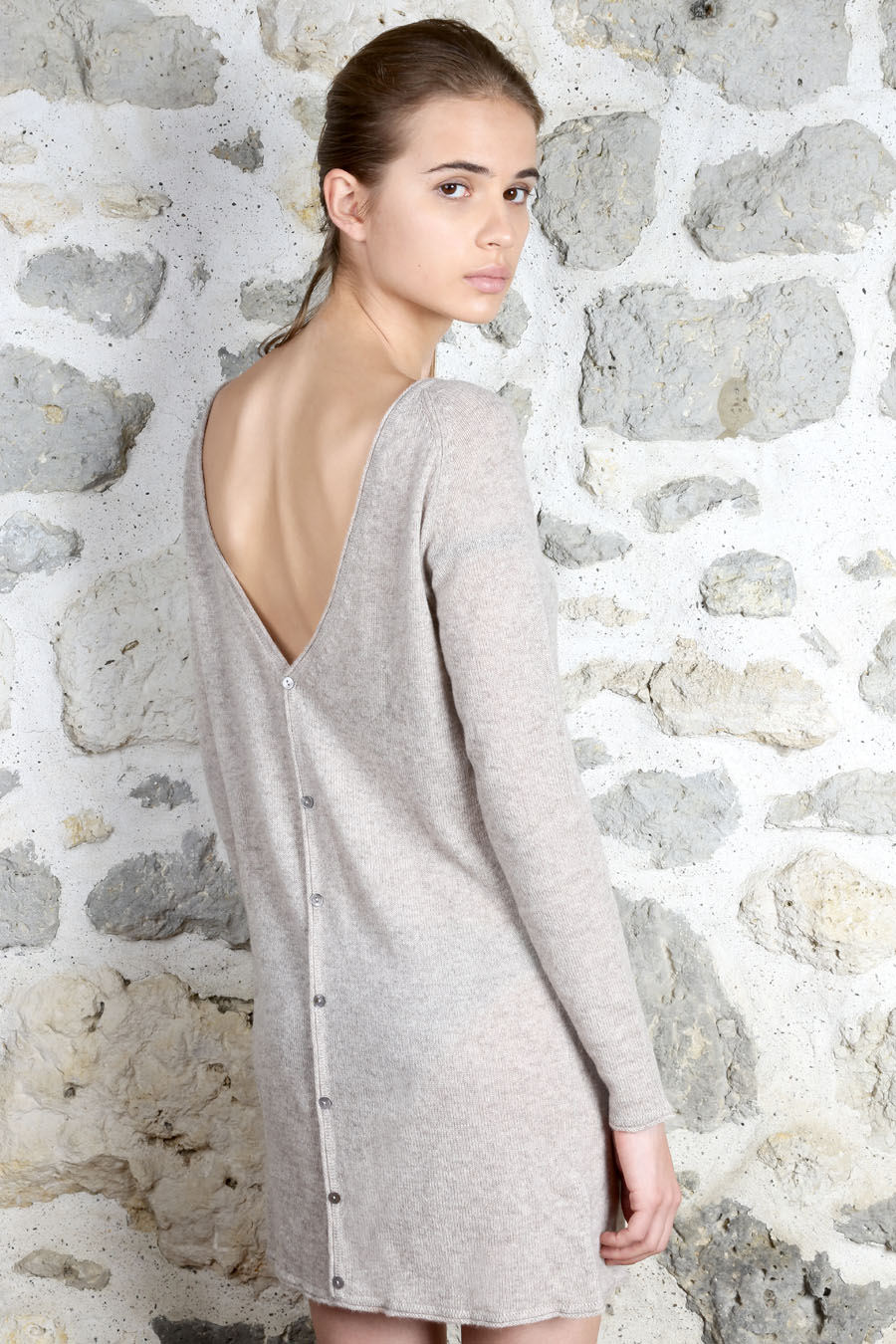 Collection Femme Robe Cachemire - Automne hiver 2015/16