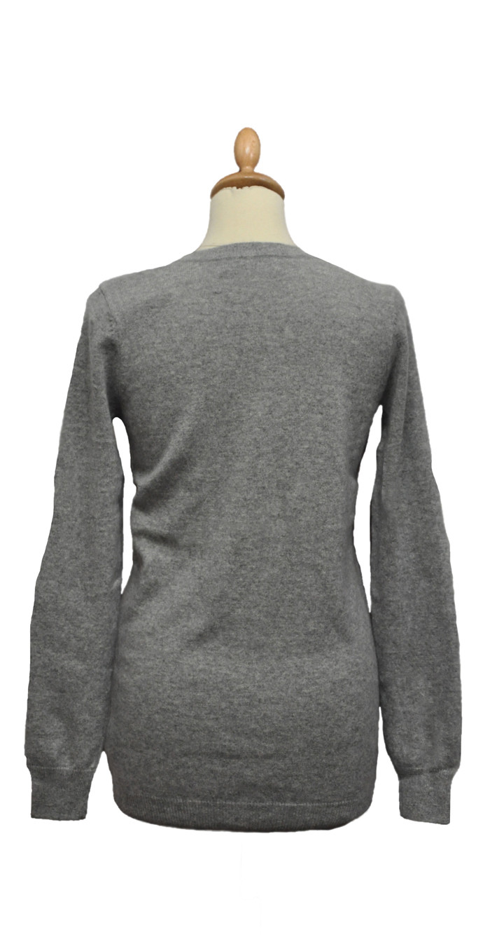 Pull cachemire Col V Femme Flavienne