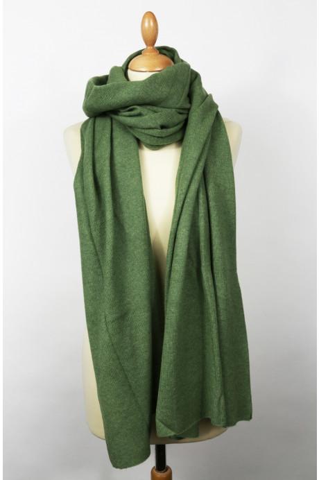 Etole cachemire SAPINO vert
