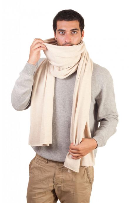 grande écharpe homme chaude en cachemire chic