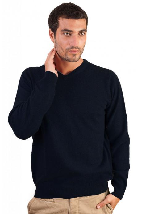 Pull cachemire homme TOKYO-bleu-marine-XL