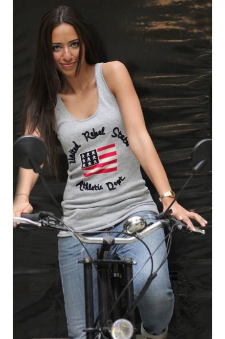 Débardeur USA pour femme