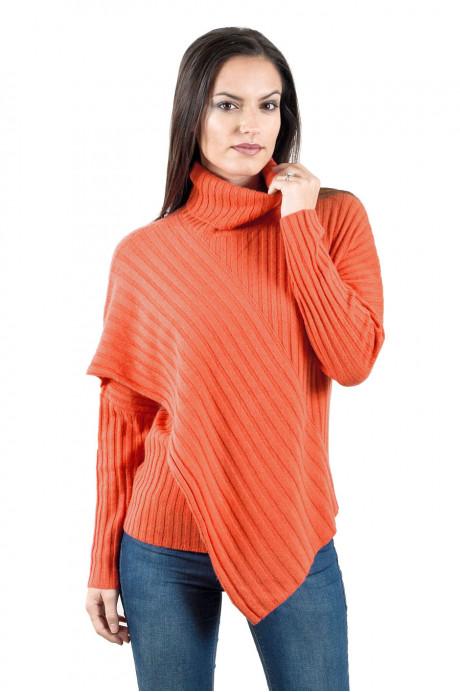 Pull yack femme KAILASH-orange-L