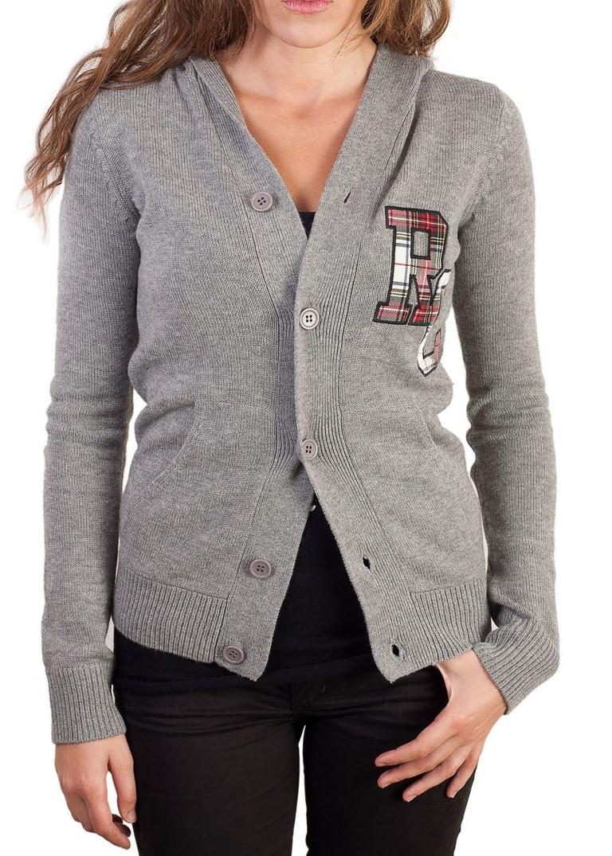 Gilet à col V pour femme en laine cachemire de la marque Rebel Cashmere