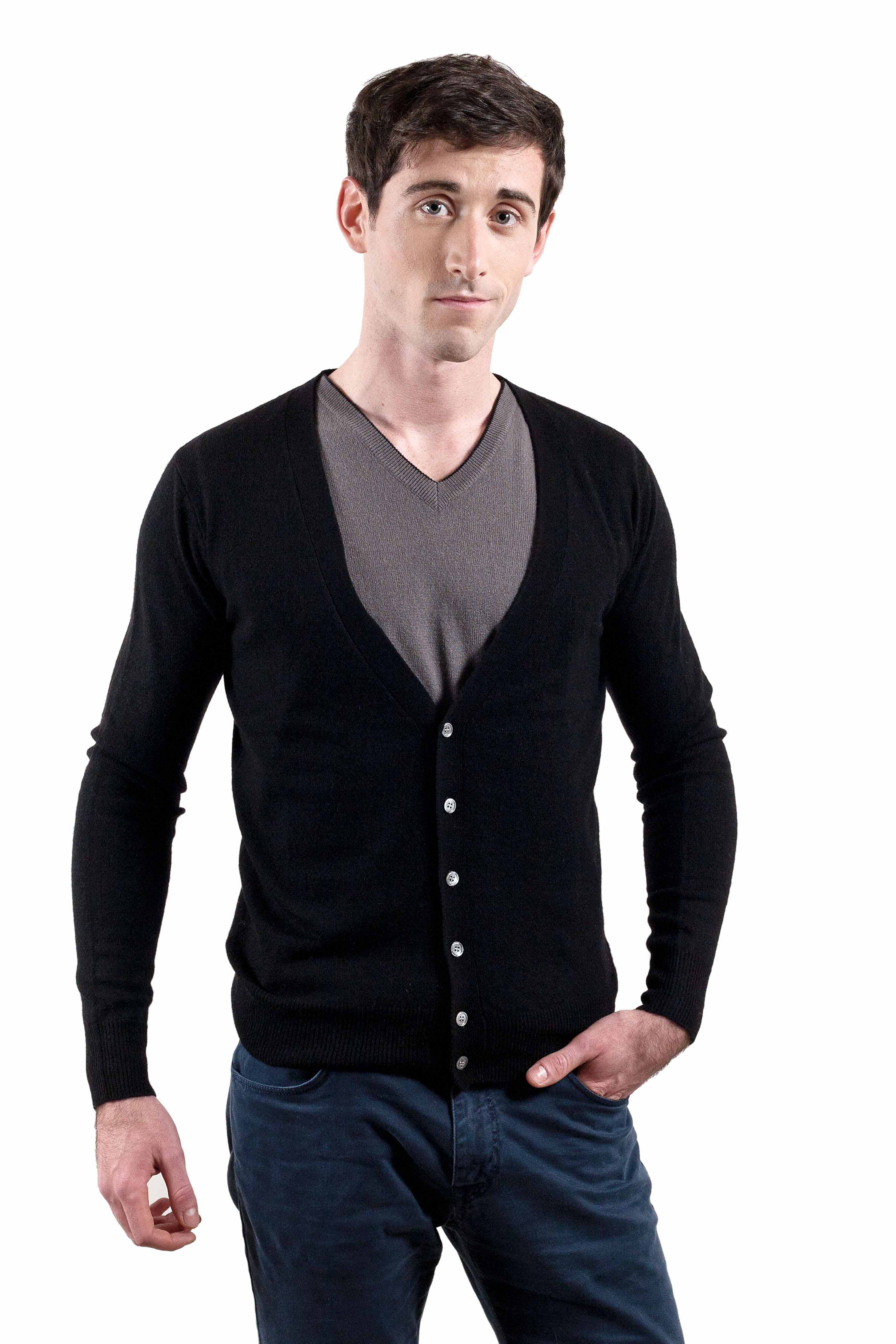 Gilet cachemire homme PERSEOS