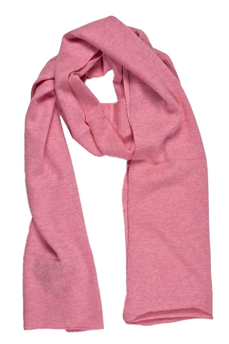 echarpe femme cachemire rose