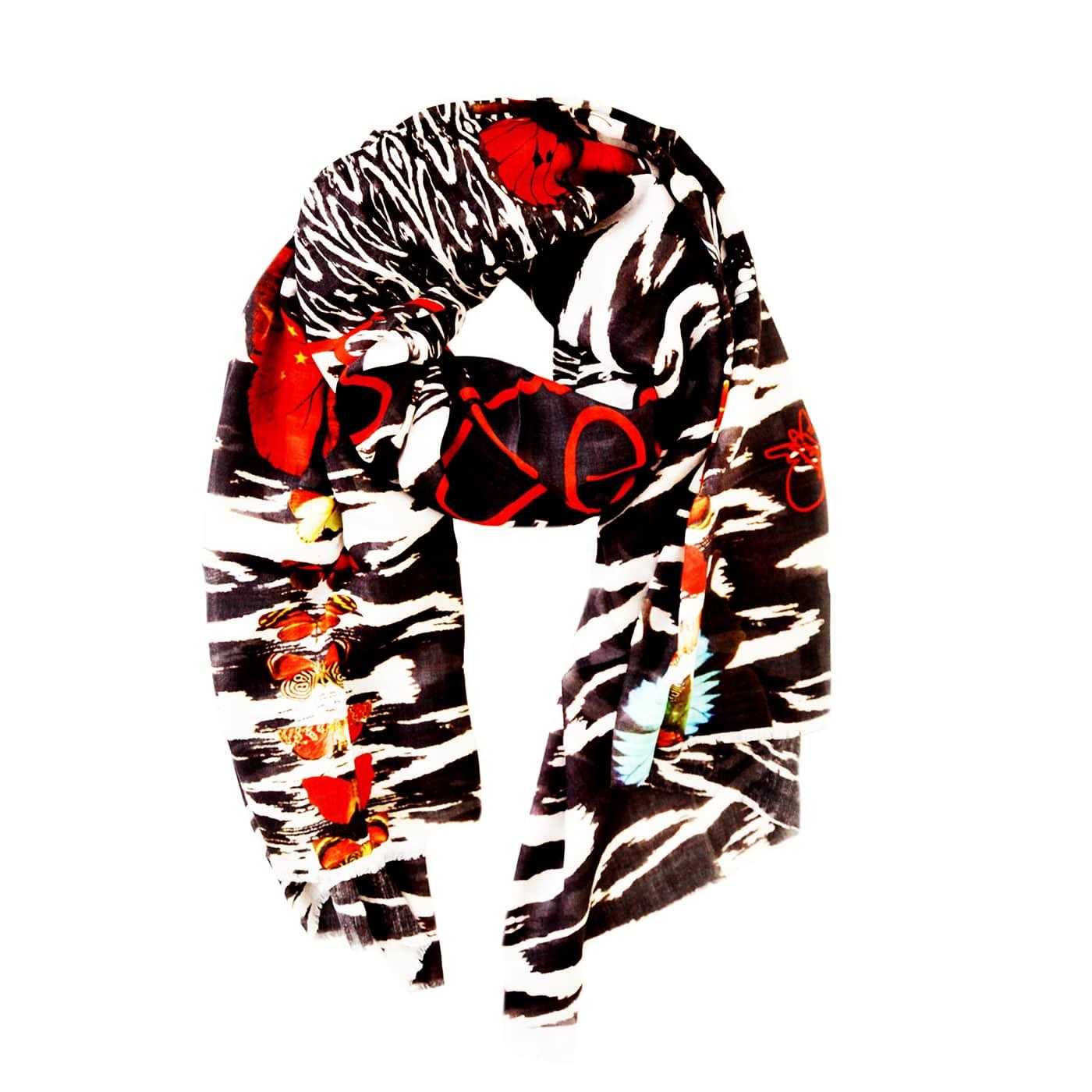 Echarpe modal cachemire IKATS - Sasha Berry-simple