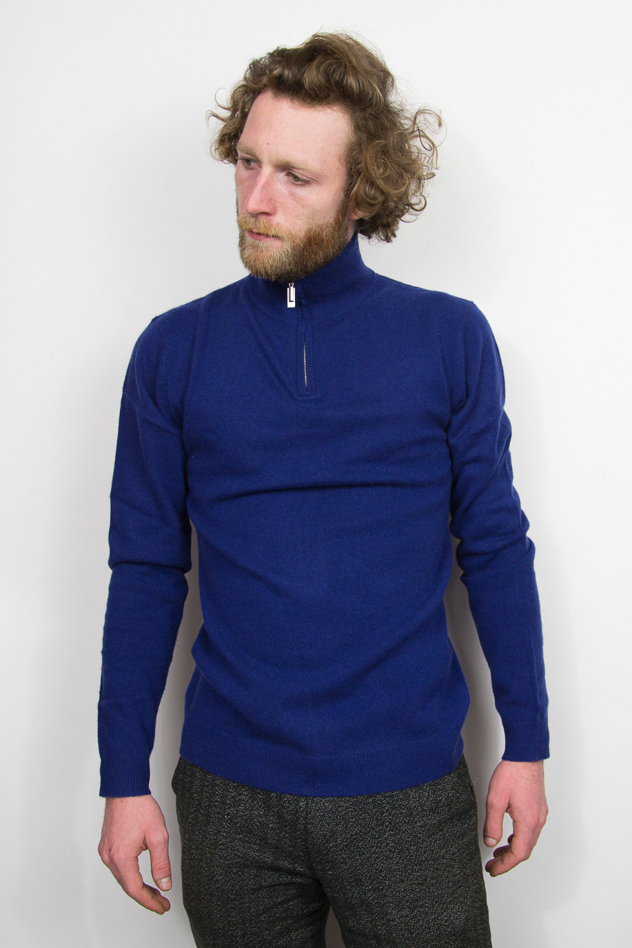 Pull camionneur cachemire homme STEEVEN