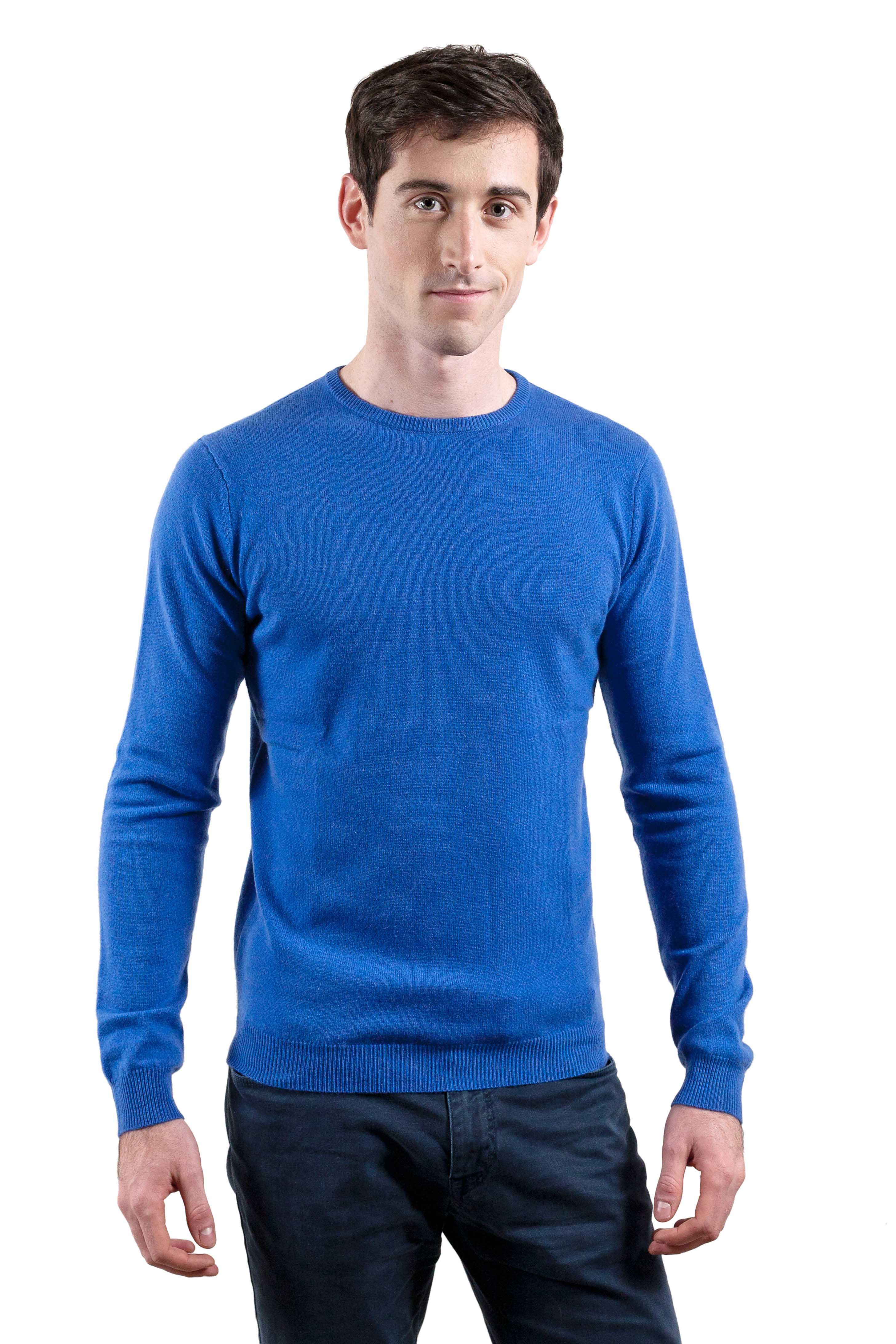 Pull cachemire col rond homme APOLLON