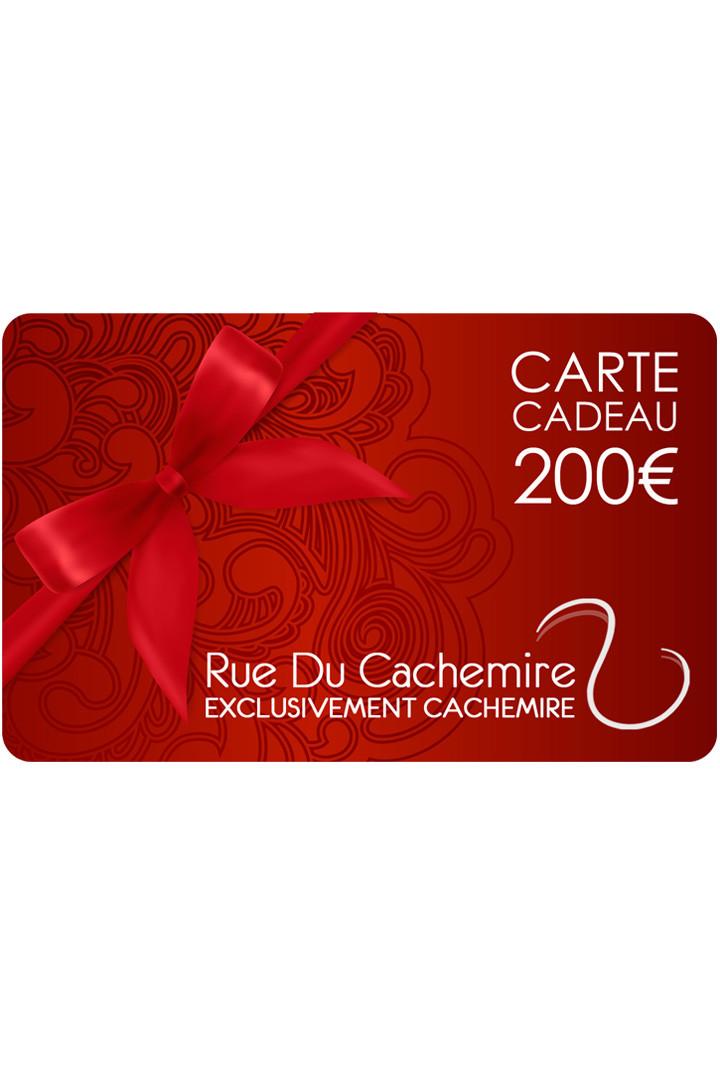 Carte cadeau 200 Eur