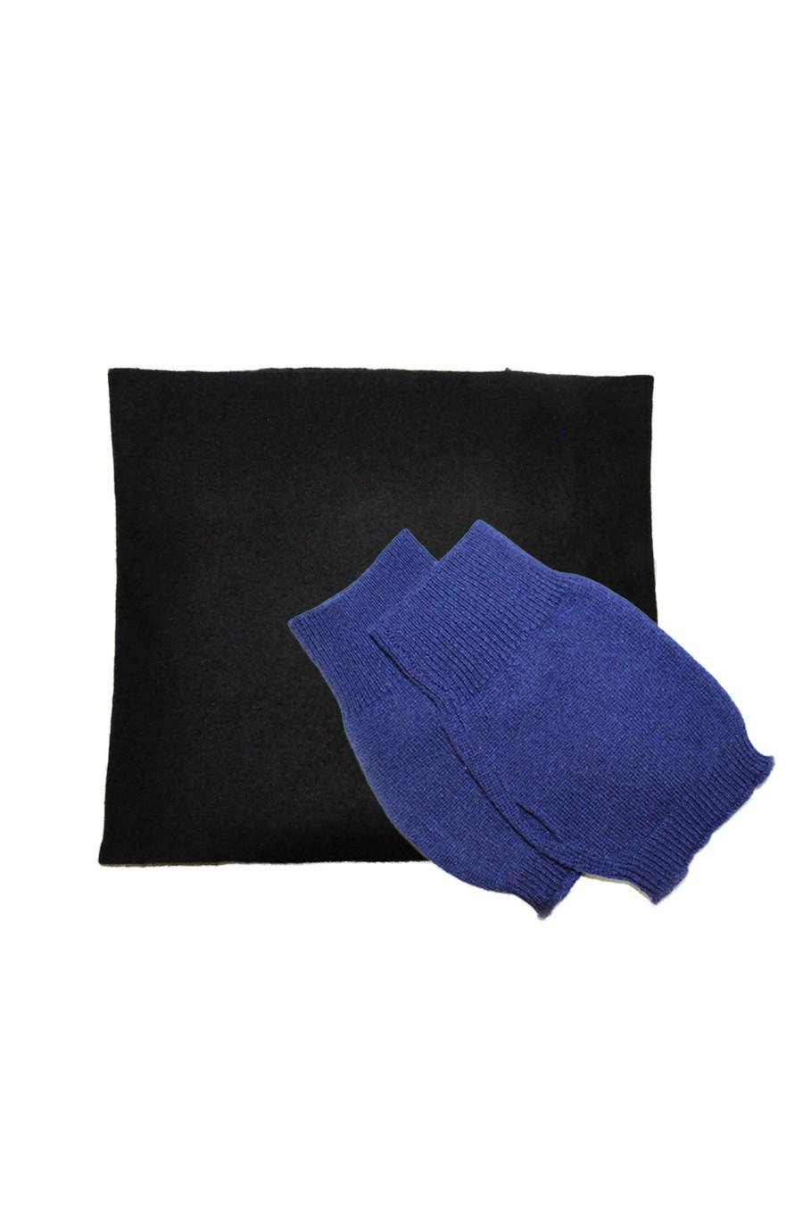 Coffret Cadeaux SILVER : Echarpe et Mitaines cashmere