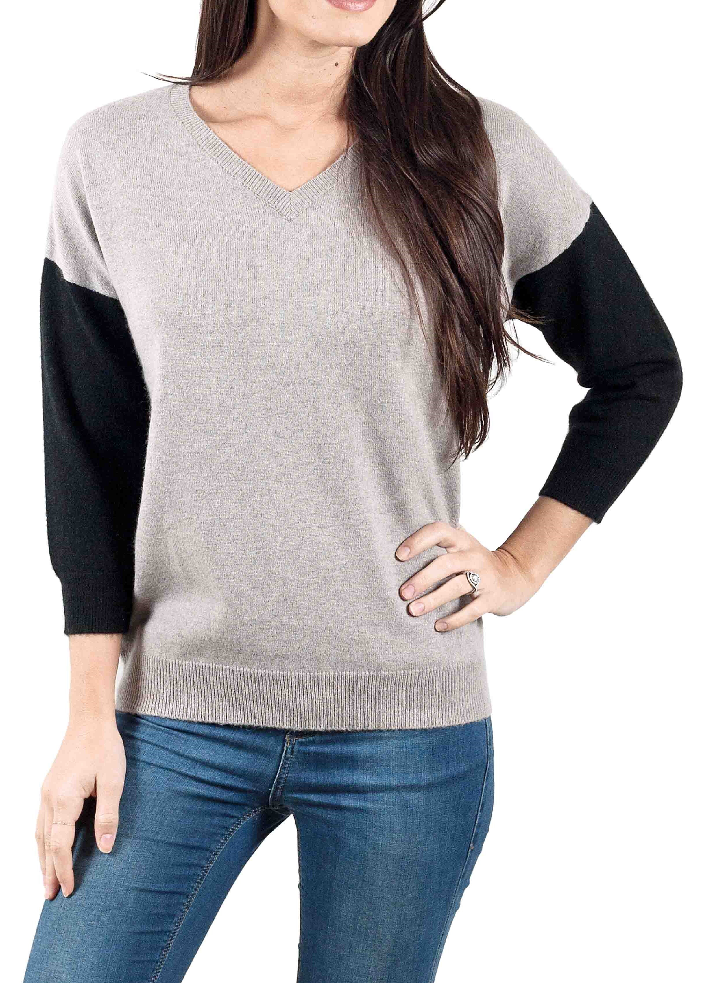 Pull Lonzo femme taupe clair