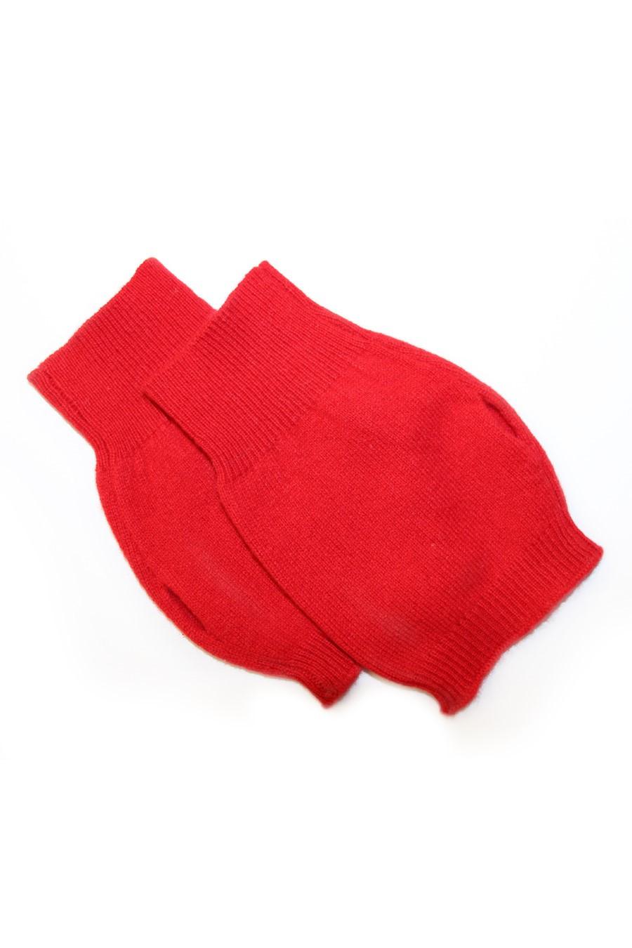 mitaines rouge