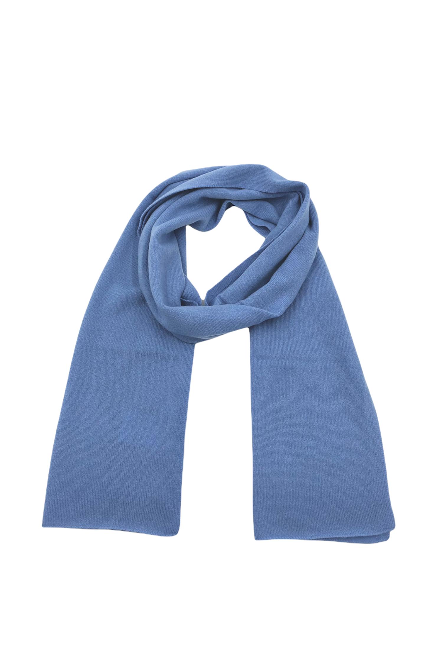 Echarpe cachemire LOUISON Bleu bleuet