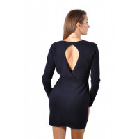 Robe cachemire CRYSTAL SEXY CACHEMIRE