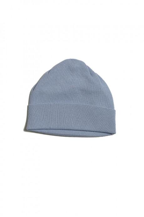 Bonnet cachemire IVER bleu pastel