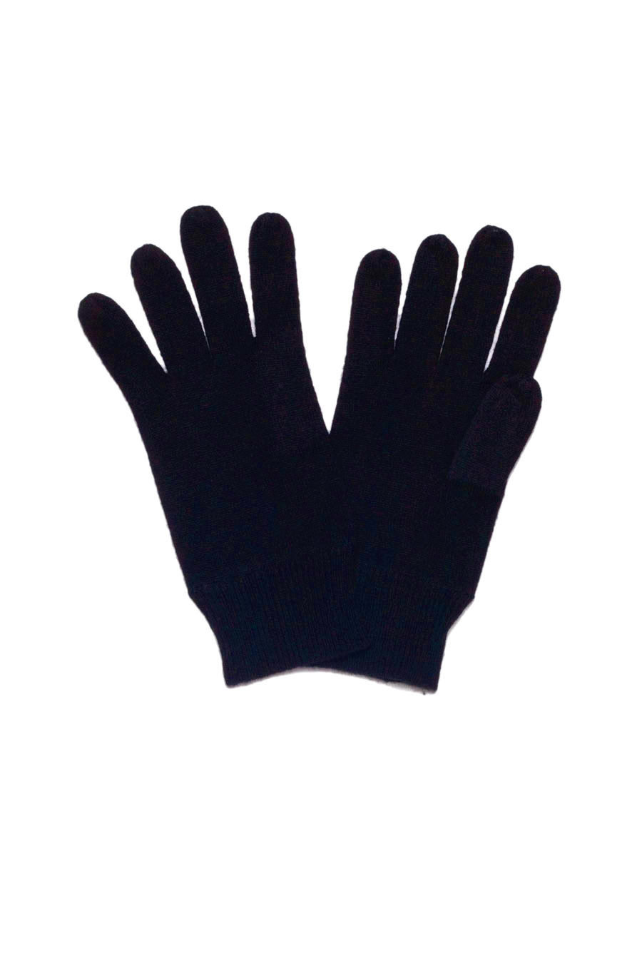 Gants cachemire FLOCON gris chiné
