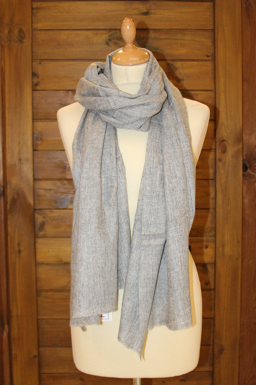 6e45ff31c Pashmina scarf PACHA Light Gray. pashmina cachemire PACHA gris clair