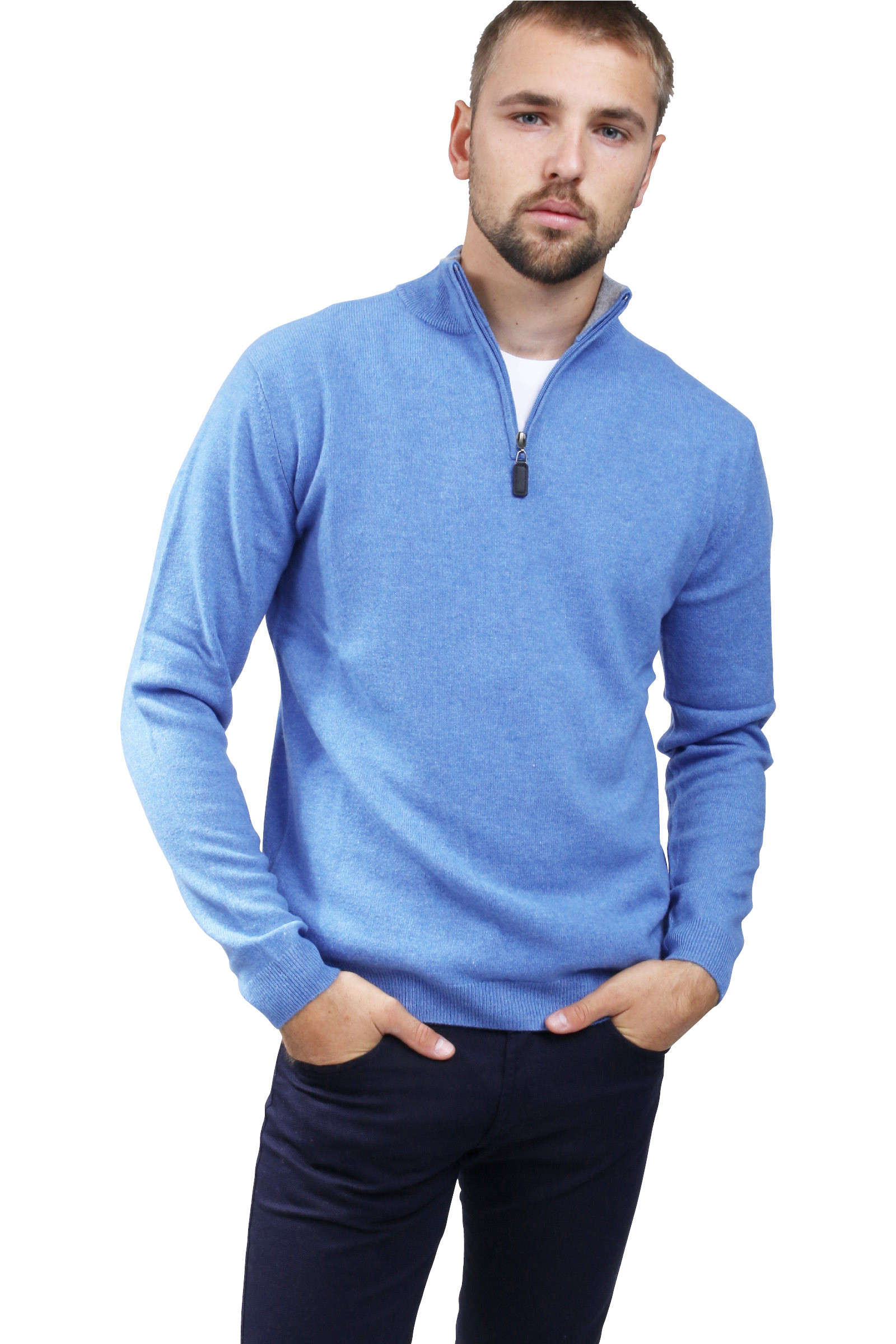 Cashmere Pullover two-color DIEGO GARCIA