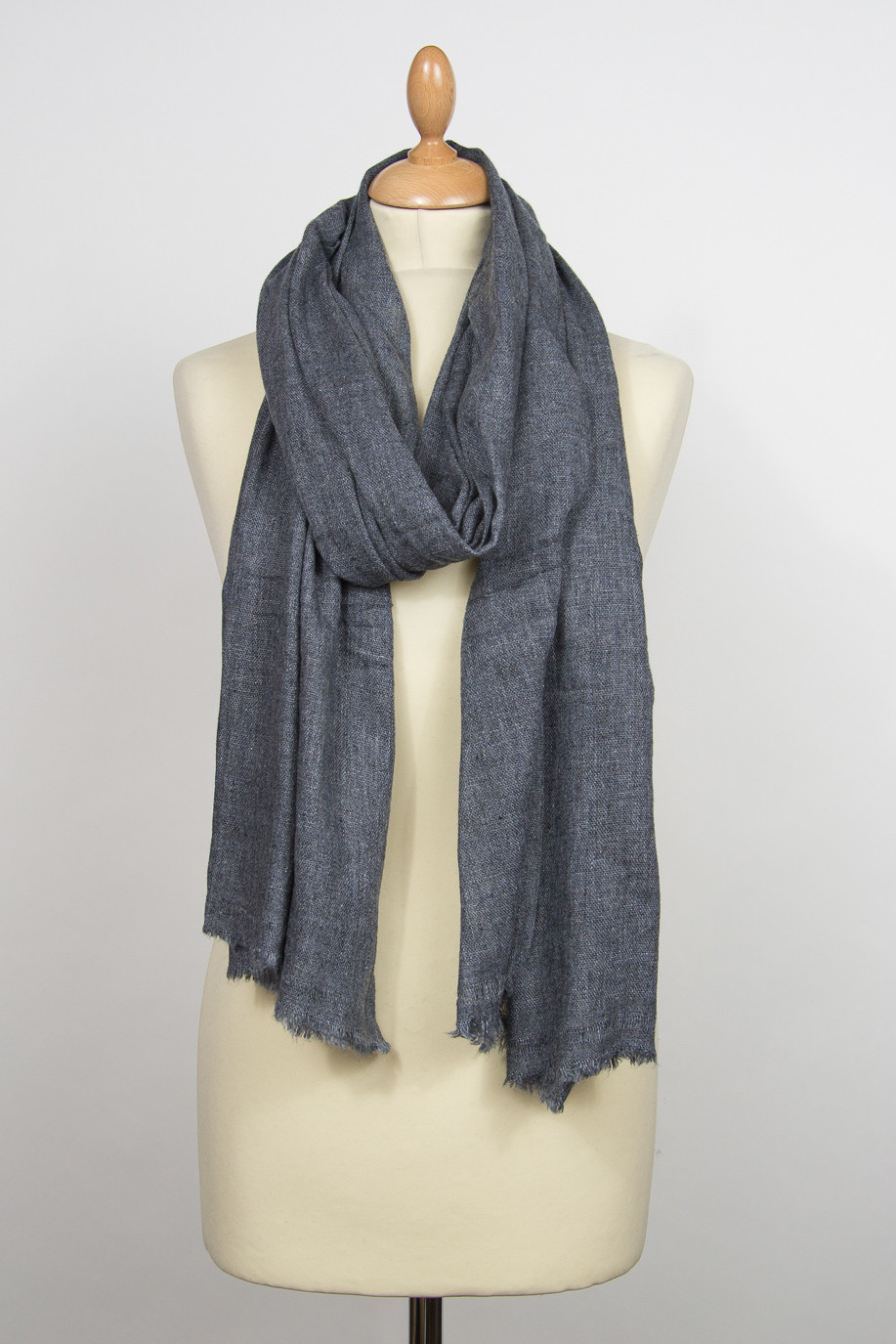 pashmina cachemire PACO Gris anthracite