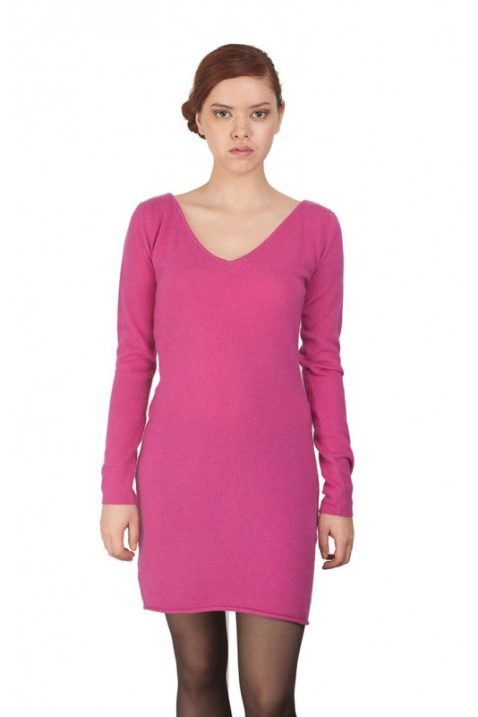 Cashmere Dress BUTTERFLY