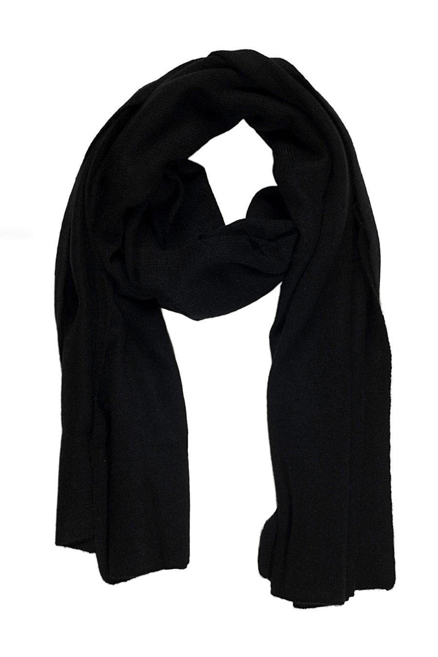 Écharpe cachemire RANI Noir